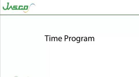 Time Program