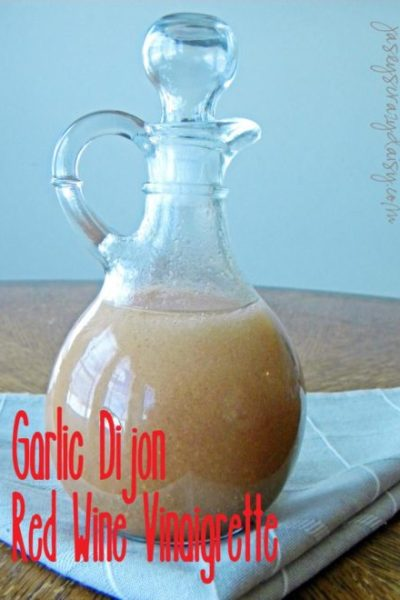 Garlic Dijon Salad Dressing