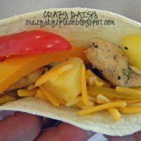 Pineapple Chicken Fajitas