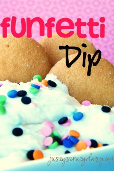 Funfetti Dip {Easy Only 3 Ingredients}