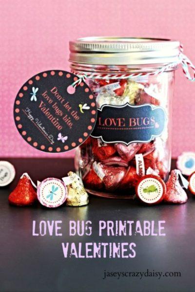 Love Bug Printable Valentine Kit