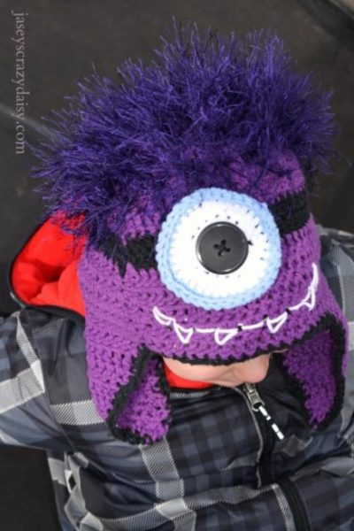 DIY Monster Minion Hat