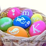 DIY Personalized Easter Eggs