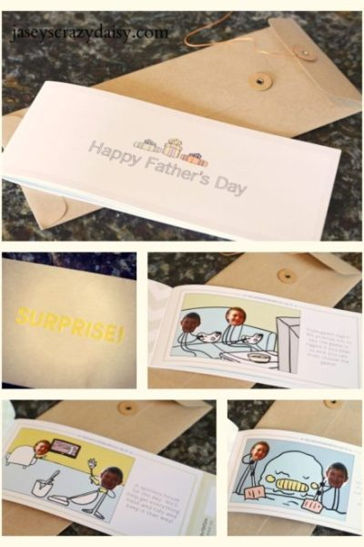 Fathers Day Gift Idea (Build Your Own Coupon Book and Datevitation Giveaway)