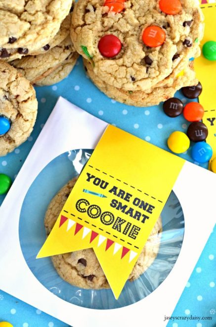 photograph about One Smart Cookie Printable referred to as By yourself Are One particular Good Cookie Printable - Jaseys Outrageous Daisy