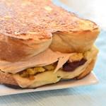 grilled turkey sandwich