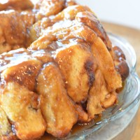 Delicious Nutty Rum Pull Apart Bread
