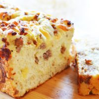 Easy Cheesy Sausage Cheese Bread