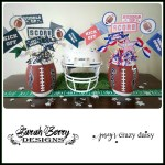 Football Printables with Football Centerpiece Tutorial