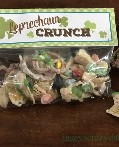 Leprechaun Crunch Treat Toppers