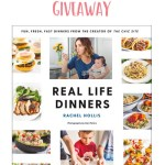 Real Life Dinners Cookbook Giveaway