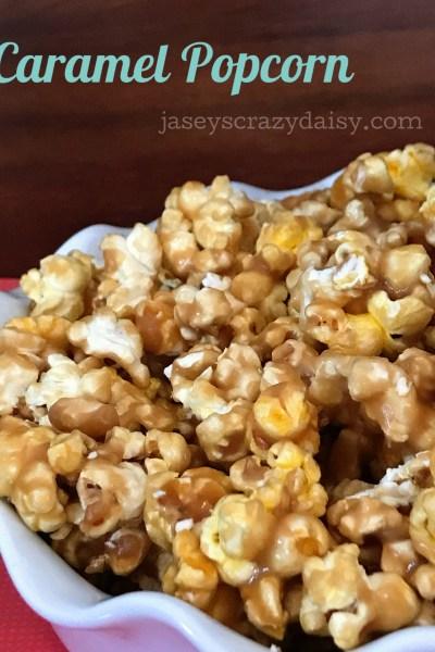 Delicious Caramel Popcorn