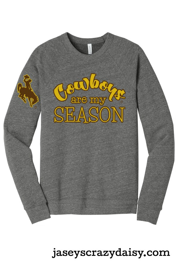 Cowboys Are My Season Crew Neck