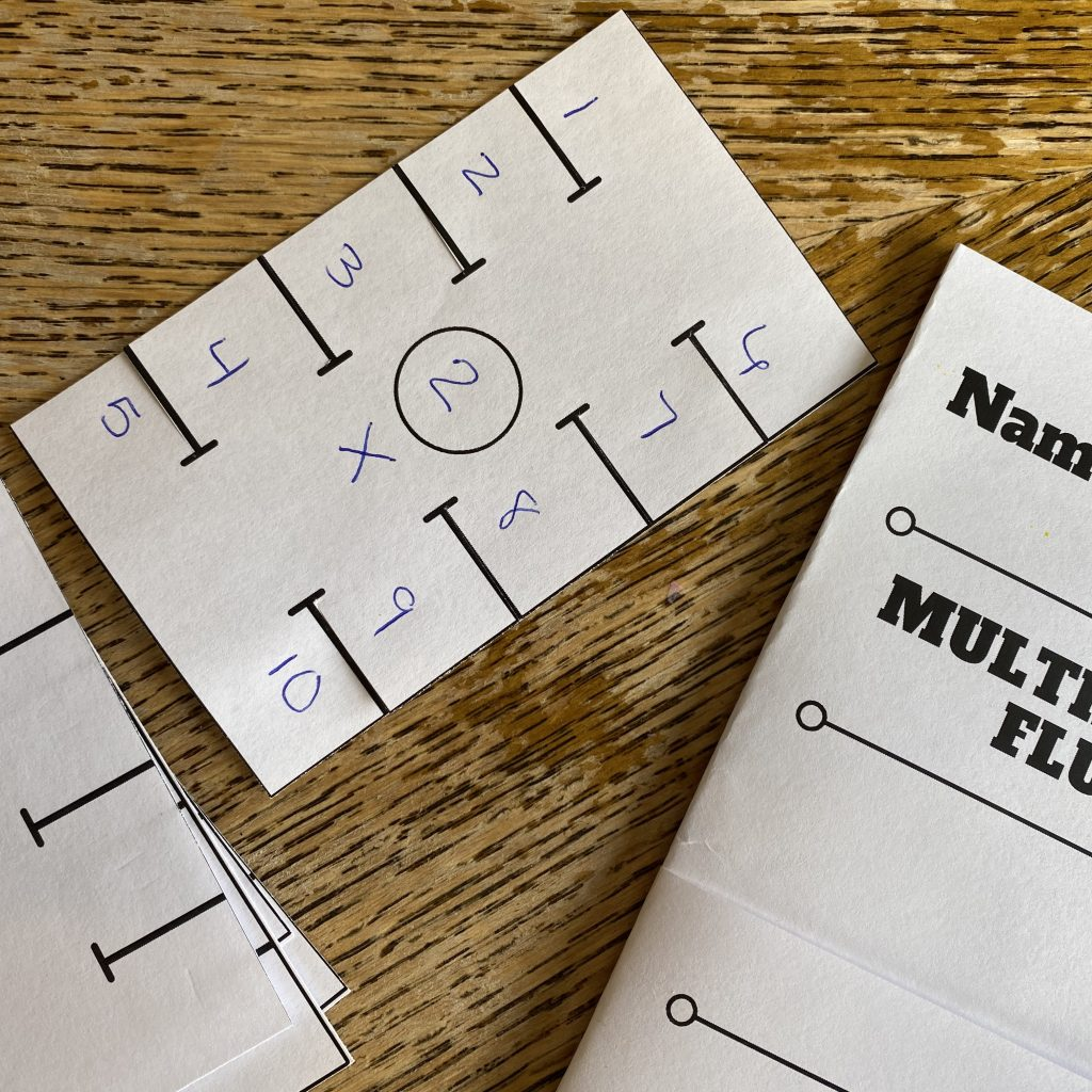 Printable Math Fluency Learning Kits