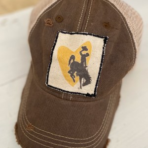 Brown For the Love of Cowboys Hat