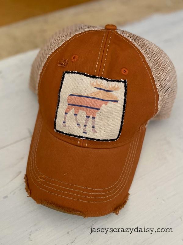 Stripey Moose Hat