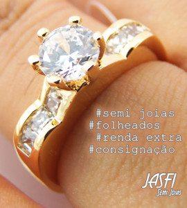 AN2000-34 , anel da Jasfi semijoias em consignação