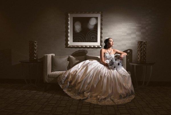Bride-sitting-on-sofa