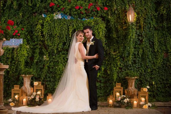galleria marchetti wedding venue portraits