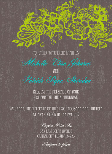 Use The Wording That You Like Most From My Wedding Invitation Page And Then Print Them Yourself Either Have