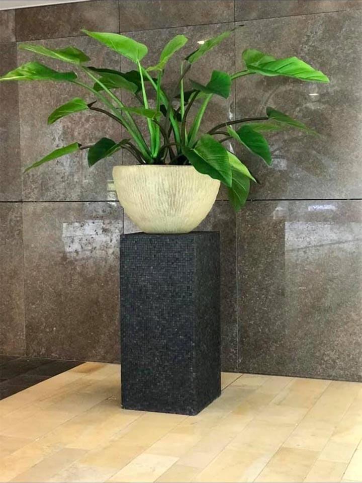 Jasmijnbloembinders - Zijden philodendron plant