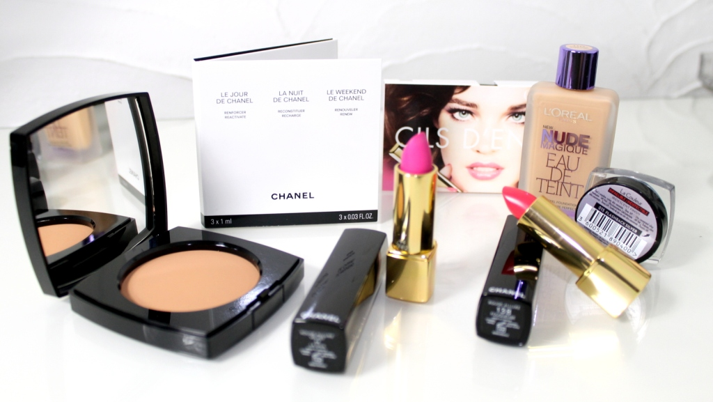chanel l'oreal haul