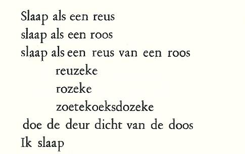 Nu en dan wat Paul Van Ostaijen moet kunnen.