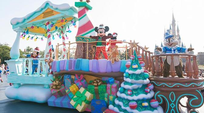 東京ディズニーランド11月のクリスマスショースケジュール