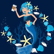 coffee mermaid copy