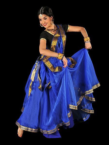Kathak is a Classical Dance form from India. Kathak means story