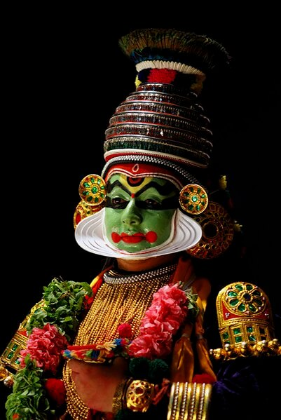 Kathakali literally means an enacted story in dance form