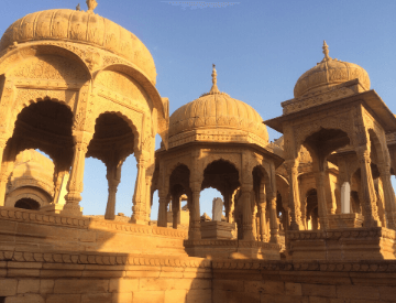 Cenotaphs in Jaisalmer