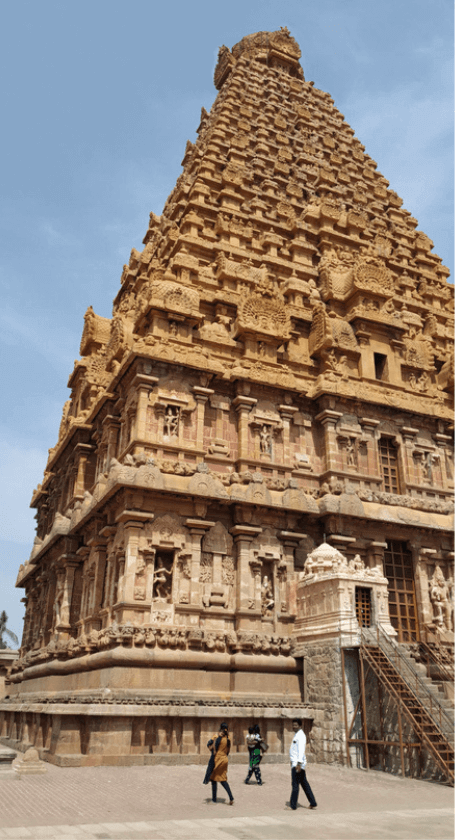 Temple Spire Tanjore