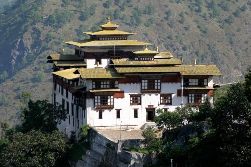 Trashigang Dzong Monastery in Bhutan