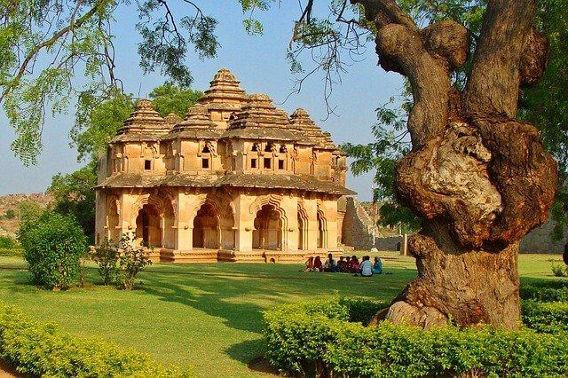 The heart of the Deccan Hampi Lotus Mahal