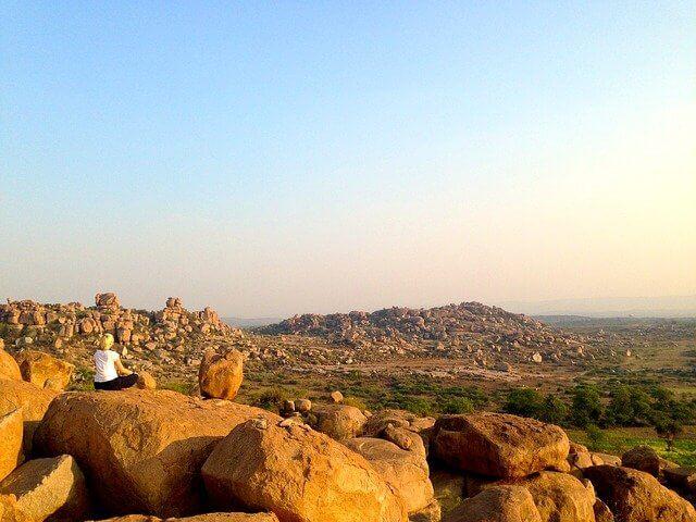 The heart of the Deccan Hampi Boulders