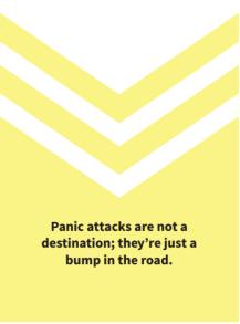Panic attack comfort, Don't Panic