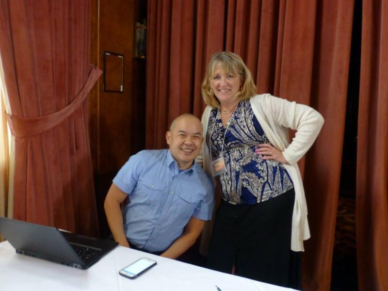 Bernie Su and Lynda Hall
