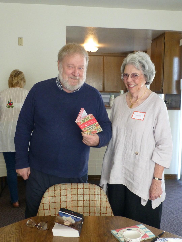 Professor Lynn Batten and Clara Browda