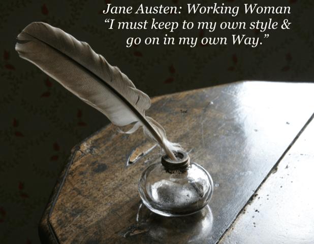 Register Now for Jane Austen: Working Woman