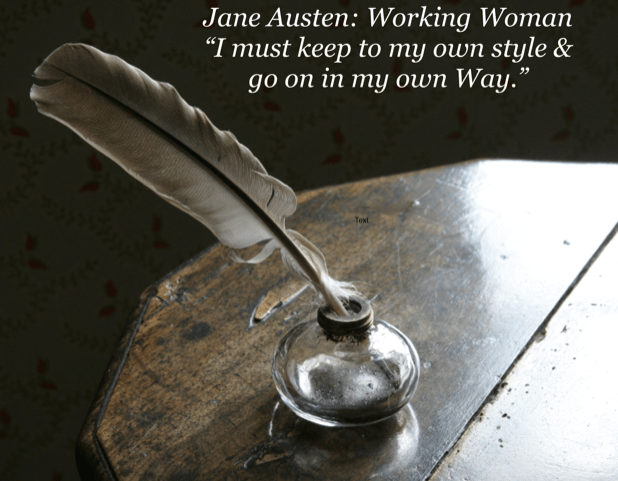 Register Now for Jane Austen: Working Woman
