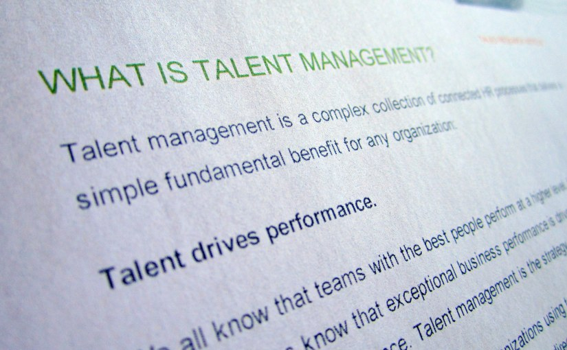 Into the world of talent management I go – {the divine journey}
