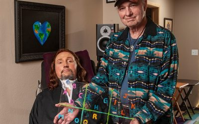 "Jason Becker ""I had an early Christmas gift last week from my doctors."""
