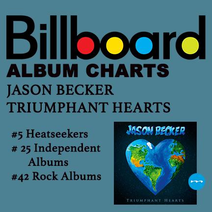 Jason Becker Triumphant Hearts Billboard Charts