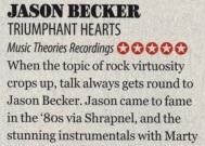 Jason Becker Triumphant Hearts Guitar Techniques Magazine Review – 5 Out of 5, What a wonderful album!