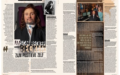 Part of a Three Page Jason Becker Feature in Rock Tribune October 2018.