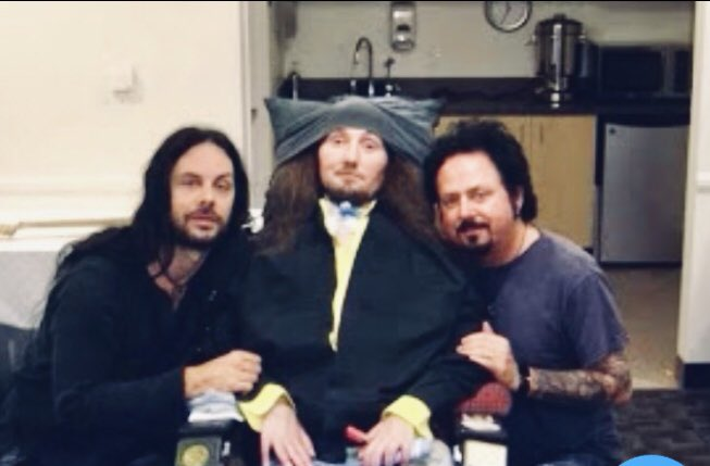 Jason Becker with Steve Lukather and Richie Kotzen