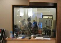 JB&tR through studio glass