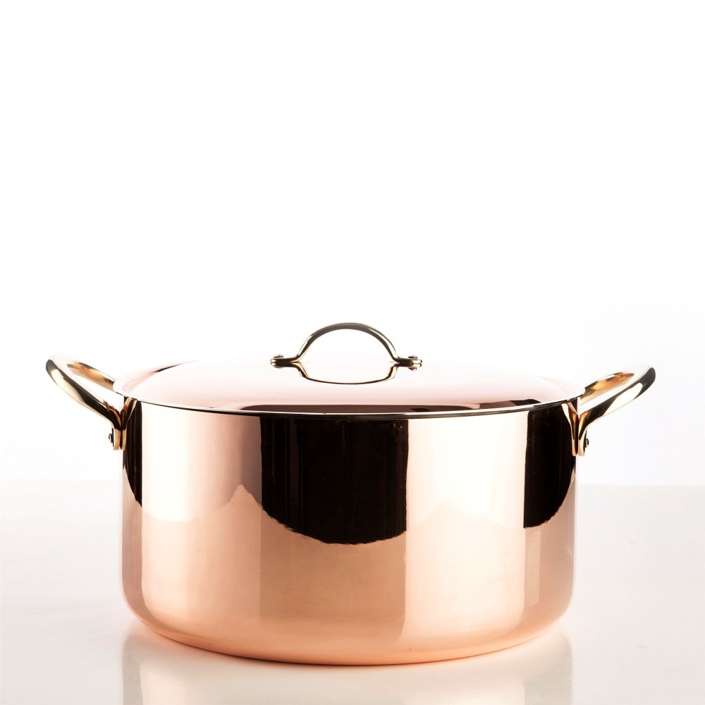 5400-30-copper-pot-with-lid-smooth-finish-square