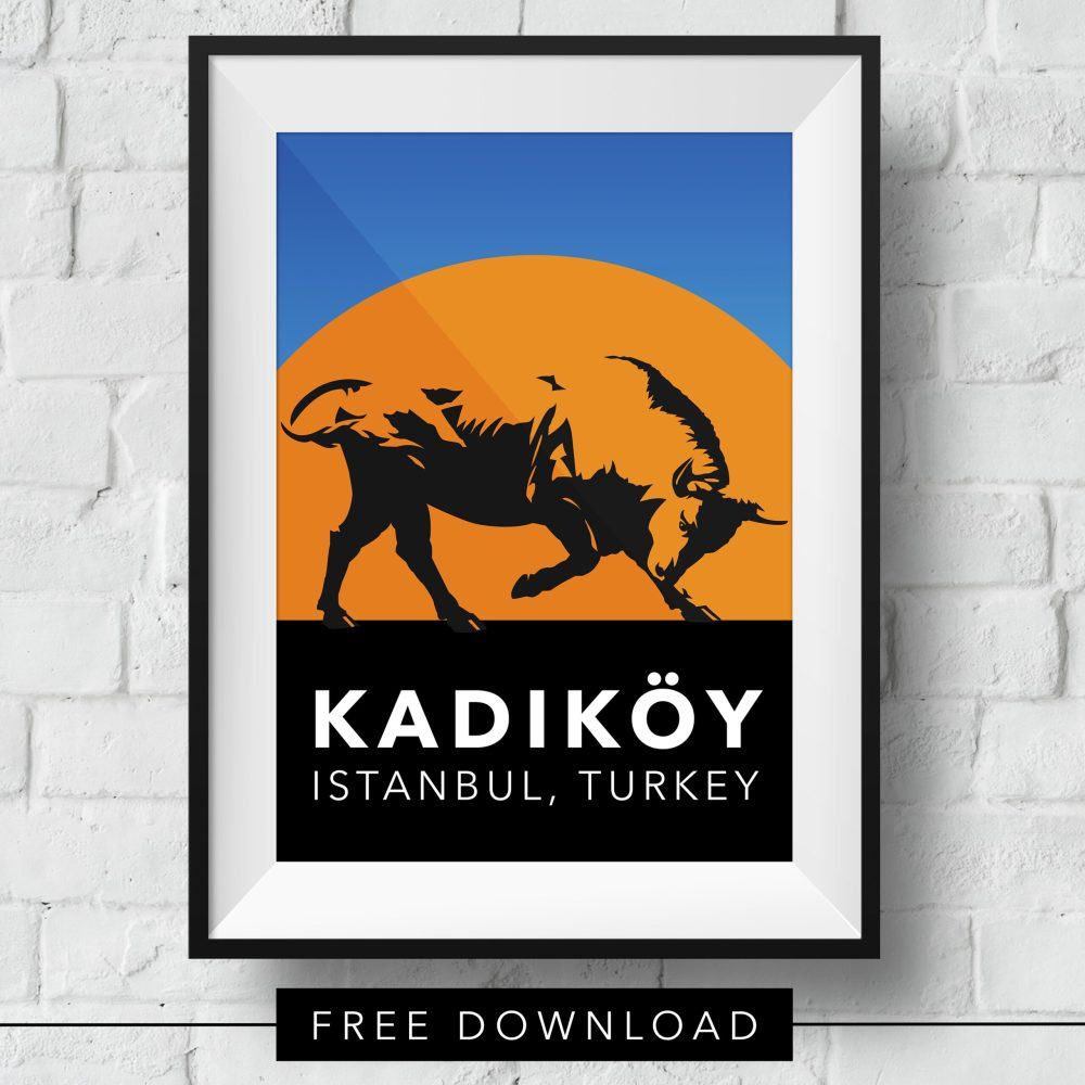 kadikoy-bull-poster-free-download